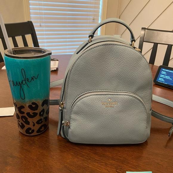 Light Blue Kate spade Backpack Small